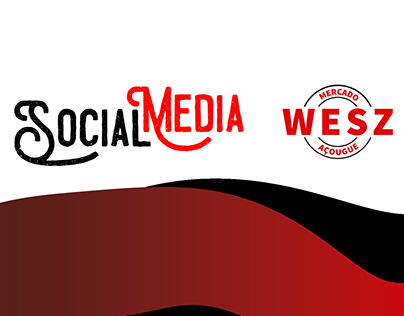 Social Media - Mercado e Açougue Wesz