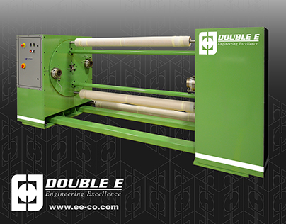 Double E: Brand freshening, machine graphics design