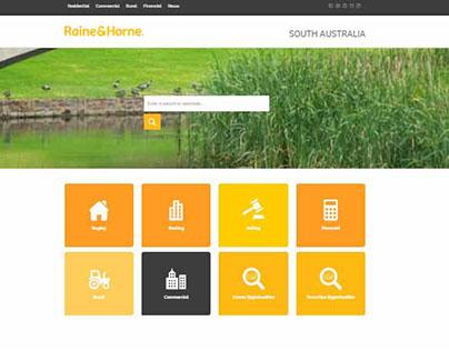 Raine & Horne SA - Website Refresh
