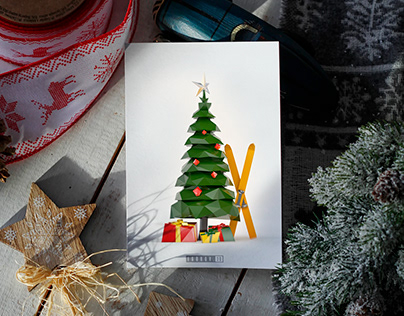 New Year cards Новогодние открытки
