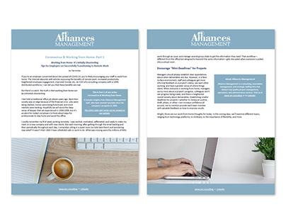 Document Design for Blog Series