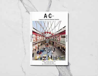 Magazine Art'chitecture - phase 1 : logo et maquette