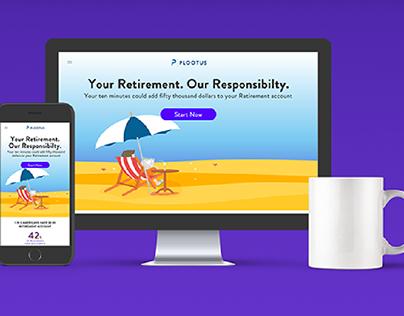 Plootus Website Mockup   UI/UX