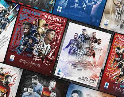 Lega Serie A | Big Match Posters vol. 2 [We Are Social]