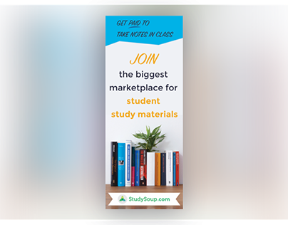 StudySoup Elite Notetaker Pinterest Ad Design