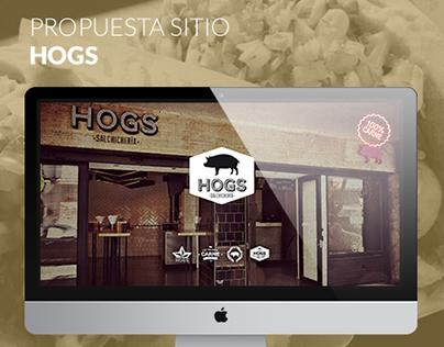 Propuesta sitio web HOGS