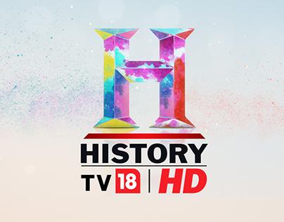 History TV18 HD holi ident