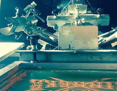 Silkscreen printed Gigposters