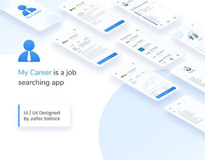 My Career Job Searching App