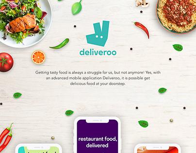 Deliveroo: Food App