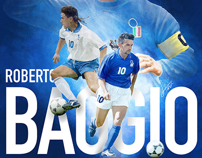 Roberto Baggio: The Divine Ponytail