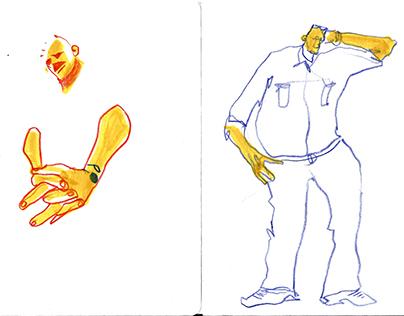 3-5 min sketches 2016