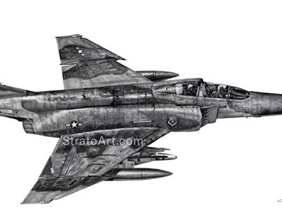 """F-4G Phantom II """"Wild Weasel"""" Work-In-Progress"""