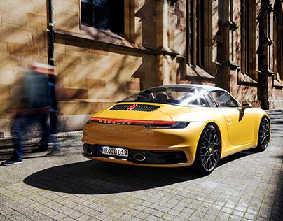 Porsche 911 Targa. | CGI