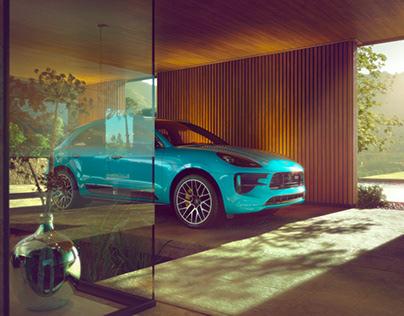 "100% CGI ""Porsche - Macan"""