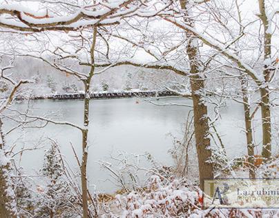 Esker Park in Winter