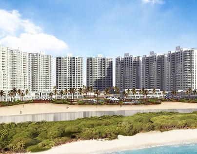 Beach resort in Panama