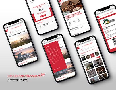 SingapoRediscover: A redesign