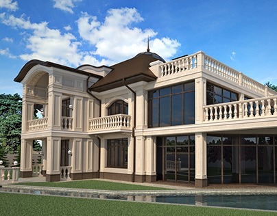 Classic style private house.