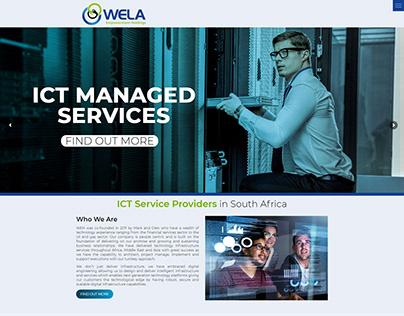 Wela Empowerment Holdings - Website Design