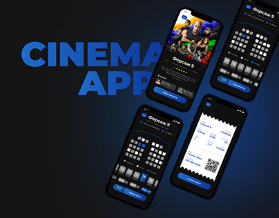 Cinema App UI Concept
