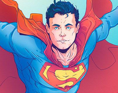 Superman - Commission Art