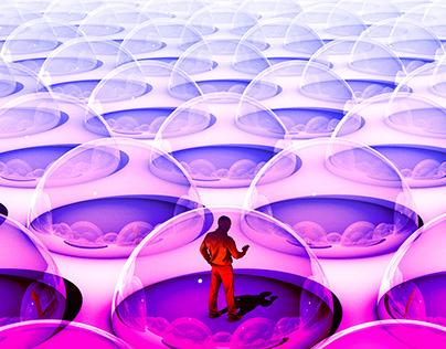 'Burst your bubble' - Guardian G2 Cover illustration