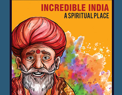Incredible India Poster Design