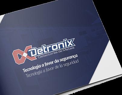Folder Institucional | Detronix