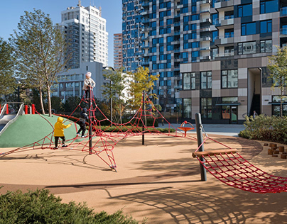 Playground at Tetris Hall Residential Complex