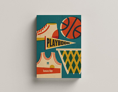 """Book cover """"Playbook"""" by Tomasz Bąk"""