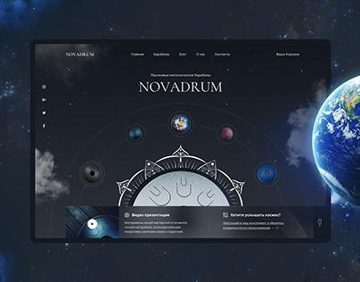 NOVADRUM - website