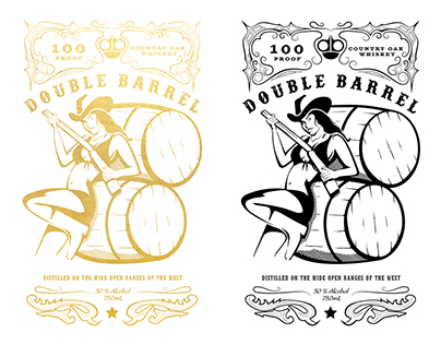 Double Barrel Whiskey