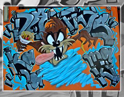 Taz1 / SopaC / Mural