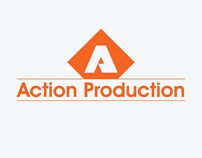 Action Production Logo Design