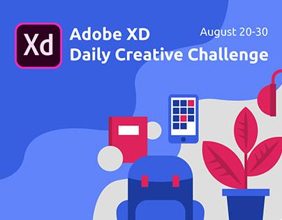Adobe XD DCC Aug 20-30