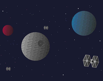 Death Star illustration