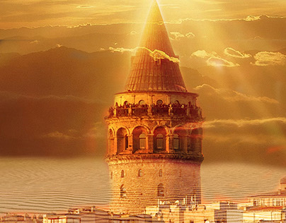 Galata Kulesi / Galata Tower Manipulayon Çalışması