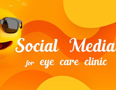 Social media for eye care clinic