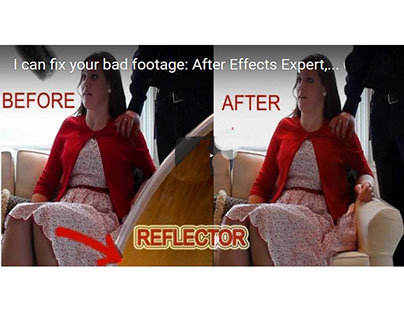 After Effect,Special Effects, Animation, Fixing Footage