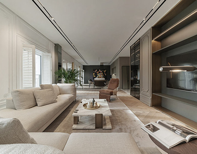 Her Apartment by Yodezeen Architects