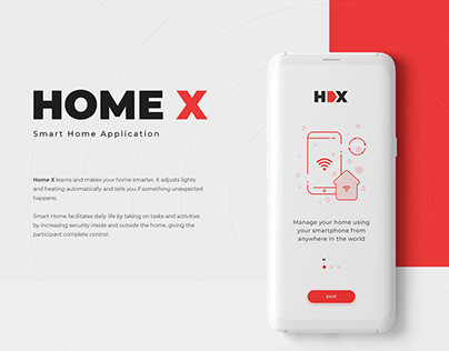 HomeX - Smart Home App