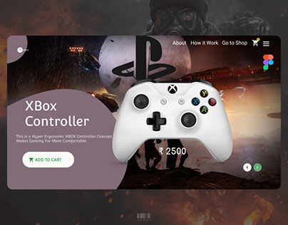 Game Controller Homepage