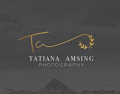 Tatiana Amsing Photography Branding #