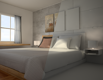 Interior modelling and rendering