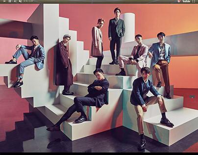 "EXO ""COUNTDOWN"" SPECIAL WEBSITE"