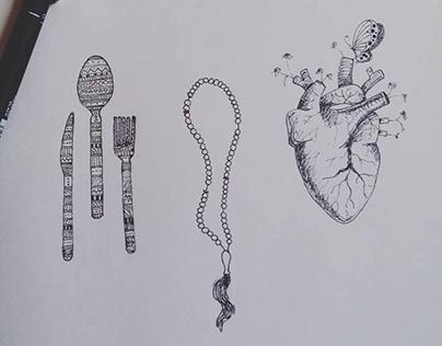 My sketch ||