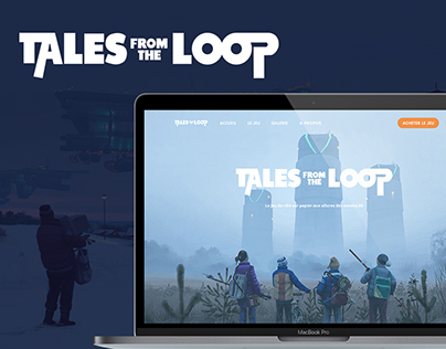 Tales from the Loop - Design concept