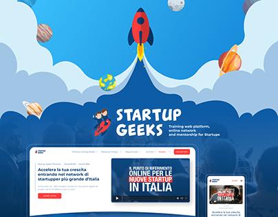 Startup Geeks - web platform