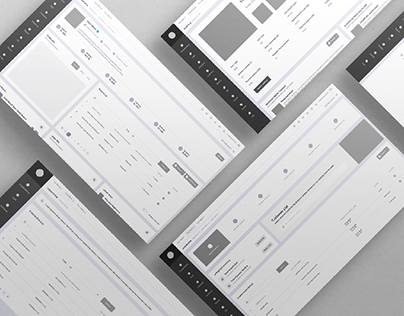 Core App for Cooperative - Wireframe Design